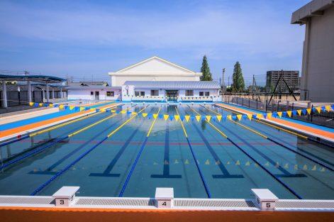金栄小学校屋外プール