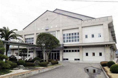 新居浜商業高校体育館