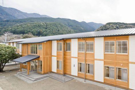えひめ学園本館新築外工事