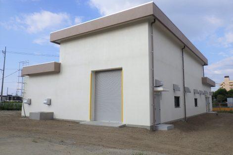 滝の宮送水場ポンプ棟建築工事