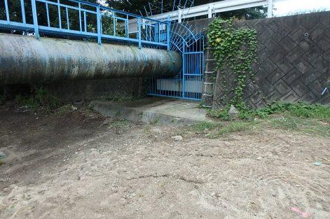 石手川水管橋耐震補強工事