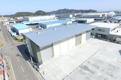 (有)泉金属商会多喜浜第2工場新築工事